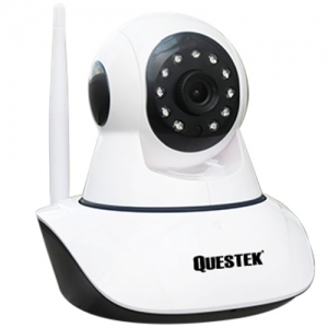Camera IP Wifi Questek Eco-922IP 1.3 Megapixel, IR 11 pcs Led 10-15m, MicroSD, Micro in, Cloud